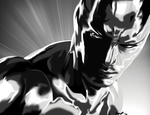 .:BirthdayGift:. Silver Surfer by lizluvsanime2