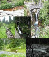 Waterfalls Ponds and Rivers by Drabble-Monster