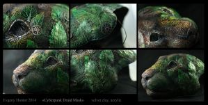 Cyberpunk Druid Mask II by hontor