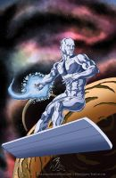 ...Norrin Radd, the Silver Surfer... by thelearningcurv