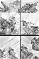 2nd Battle Pg 18 Shootout  by Snowfyre