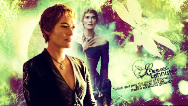 GoT // Cersei Lannister / you win or you die by ArdenD83