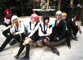 Inu x Boku SS cosplay group by MadHatter1993
