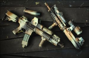 Colt M4 CQB Block 1-2 by Drake-UK