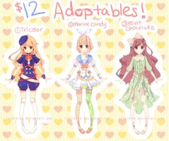 $12CAD ADOPTABLES 01 [CLOSED] by irisieren