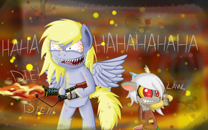 Jerky Hooves - Burn Burn Burn!!!! by Extra-Dan