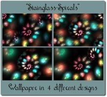 Stainglass-Spirals by Kancano