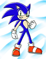 His Awesomeness, Sonic by SonicRocksMySocks