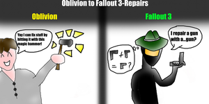 Oblivion to Fallout 3-Repairs by AdamTheJoker