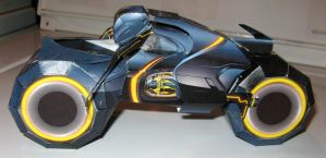 Tron papercraft: Light Cycle by mobydisk
