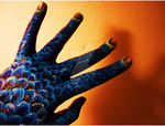 Dragon Hand in Blue by Hades-the-Mighty