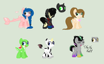Themed foal adopts by dragonlover786