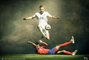 Luke Shaw England Wallpaper by nirmalyabasu5