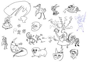 Graphic Tablet Randomness by JaviDLuffy