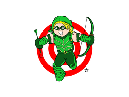Green Arrow 1 by ZacAvalanche