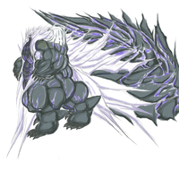 Tyraimus Xiron XIII  God Of Monsters by exuitirteiss