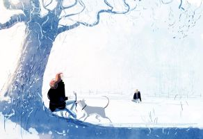 He usually doesn't like strangers. by PascalCampion