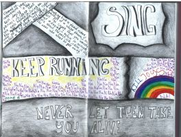 Mini Notebook:MCR by BurningSpinKilljoy