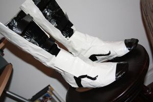 Duct Tape Long Fall Boots 3 by everythingerika