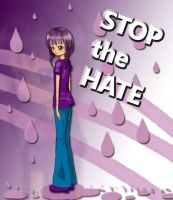 Stop the Hate: Go Purple by smarticles101