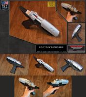Captain's Phaser Mk.2B (Silverback) by TFP by galaxy1701d