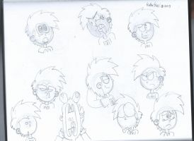 Nathans expressions sketch by StephenRStorti91
