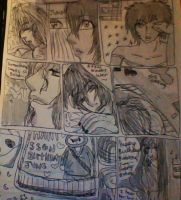 Junes Birthday page 1 read R to L by Grinningsunknown
