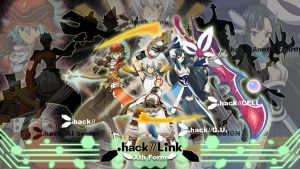 .hack Link Wallpaper by Rikulaw