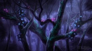 Creavures Background - Treetop by musegames