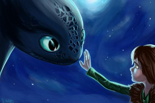 How to train your dragon by viria13