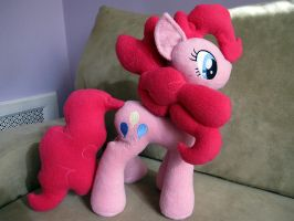 Pinkie Pie Plush by Element0flaughter
