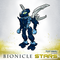 Bionicle Stars: Hahli by ToaTiome