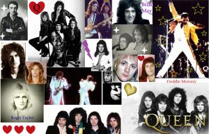 Queen Wallpaper by PoppycockFanatic13