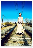 railroaded by blue by heartagram