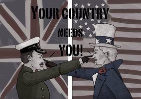 Your country needs you! by ReconditeVillain