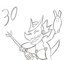 30 Day Challenge Day 30 Shoutmon by HyperForceGo