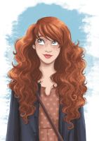 ginger hair by sorciereetchocolat