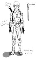 Concept Sketch - Casey by Nyte-Tyme