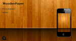 iPhone WoodenPaper by ChrisVme
