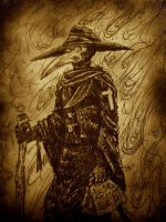 The Plague Doctor by Magzdilla