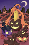 Commission- Pokehalloween by Hachiwara