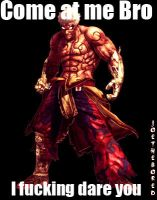 Asura's wrath Come at me. by JoeTheBored
