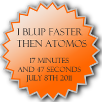 I BLUP Faster Than Atomos ::+Howrse.com+:: by Starcather9