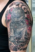foo dog ... done by graynd