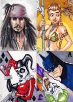 MOD charity sketchcards 2-5 by Artassassin