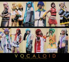 Vocaloid Group by YoruDave