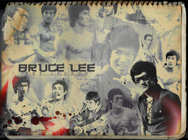 Bruce Lee Wallpaper by xRainbowScribblex