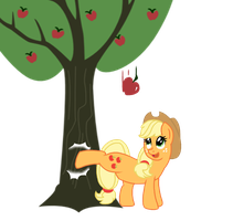A kick for an apple by Desteny-Love
