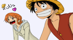 Luffy X Nami //LuNa// by Smile-smiley