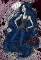Marceline the Vampire Queen by Pomegranate-Pen